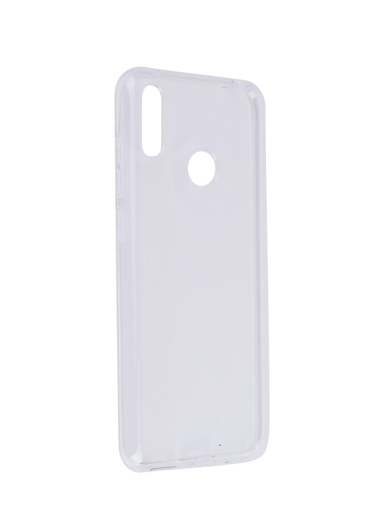 Аксессуар Чехол SkinBox для Huawei Y7 2019 Slim Silicone 4People Transparent T-S-HY72019-005