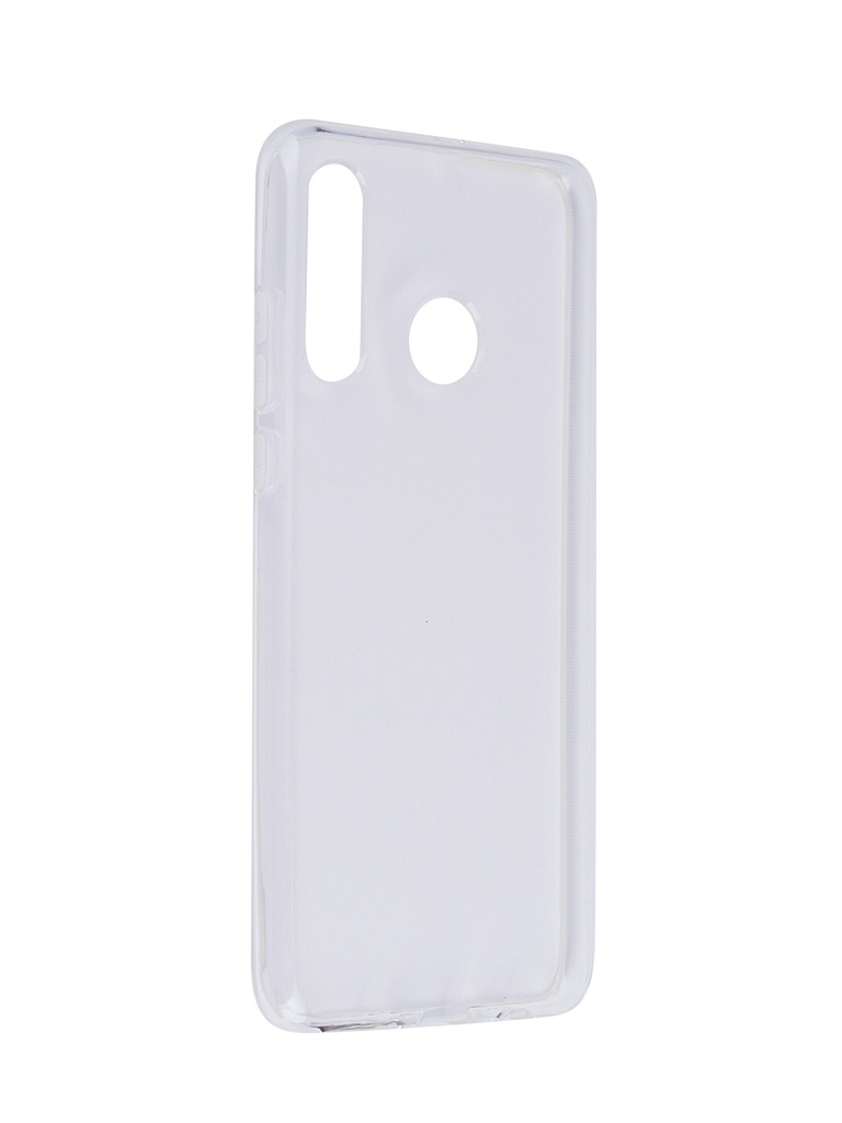 Аксессуар Чехол SkinBox для Huawei P30 Lite Slim Silicone 4People Transparent T-S-HP30L-005