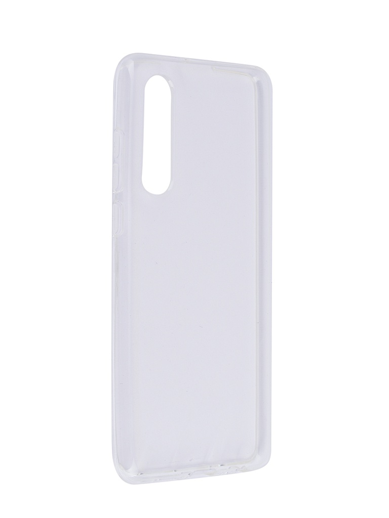 Чехол SkinBox для Huawei P30 Slim Silicone 4People Transparent T-S-HP30-005