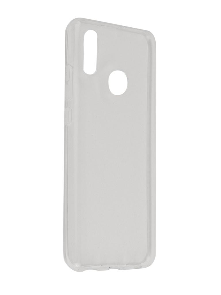 все цены на Аксессуар Чехол SkinBox для Huawei Honor 10 Lite Slim Silicone 4People Transparent T-S-HH10L-005 онлайн