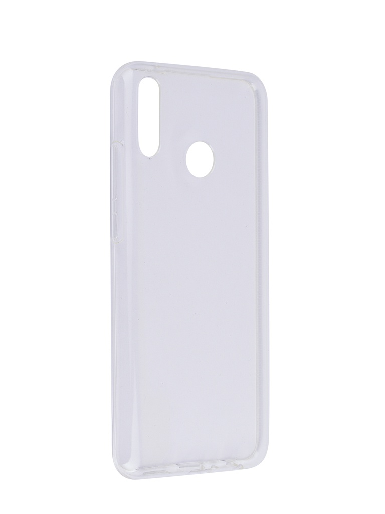 цены Чехол SkinBox для Huawei Y9 2019 Slim Silicone 4People Transparent T-S-HY92019-005