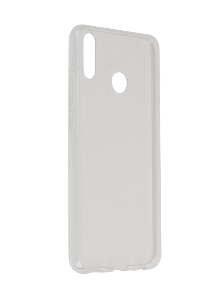 Аксессуар Чехол SkinBox для Huawei Honor 8X Slim Silicone Transparent T-S-HH8X-006 аксессуар чехол meizu u10 skinbox slim silicone transparent t s mu10 006