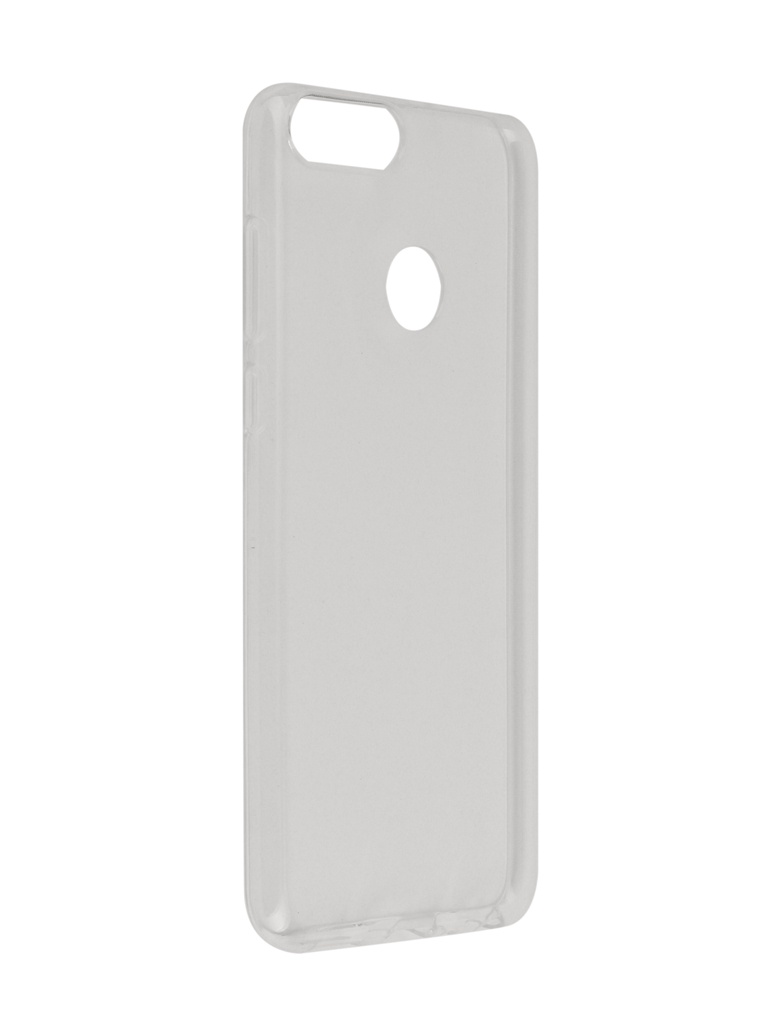 Чехол SkinBox для Huawei P Smart / Enjoy 7S Slim Silicone 4People Transparent T-S-HE7S-005