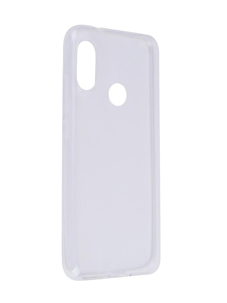 Аксессуар Чехол SkinBox для Xiaomi Mi A2 Lite / 6 Pro Slim Silicone Transparent T-S-XMA2L-006