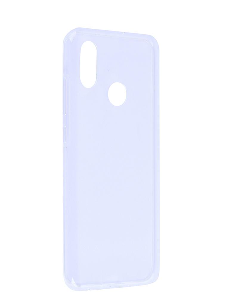 Аксессуар Чехол SkinBox для Xiaomi Mi 8 Slim Silicone Transparent T-S-XM8-006