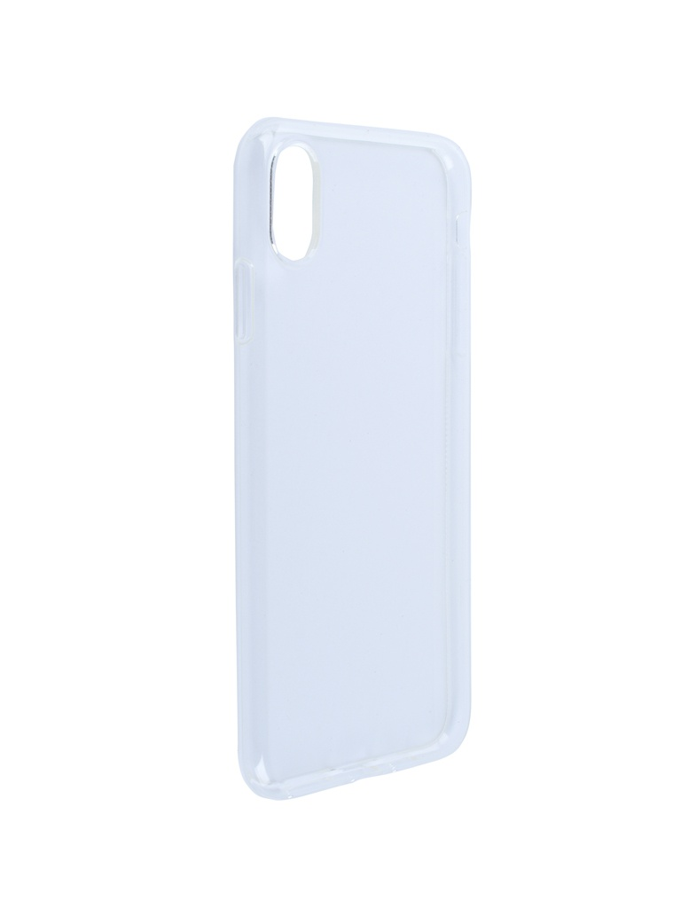 Аксессуар Чехол SkinBox для APPLE iPhone XS Max Slim Silicone Transparent T-S-AI9P-006
