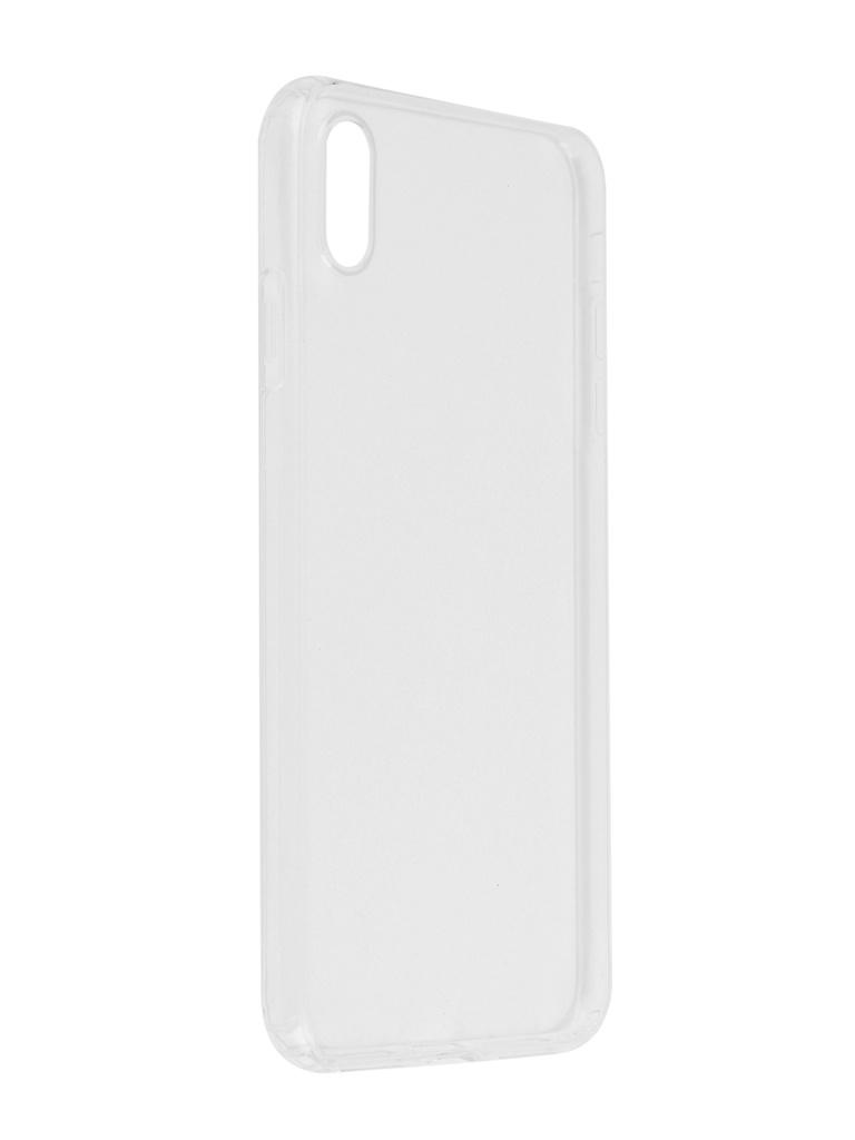 Аксессуар Чехол SkinBox для APPLE iPhone XS Max Slim Silicone Dustproof Transparent T-S-AI9P-008