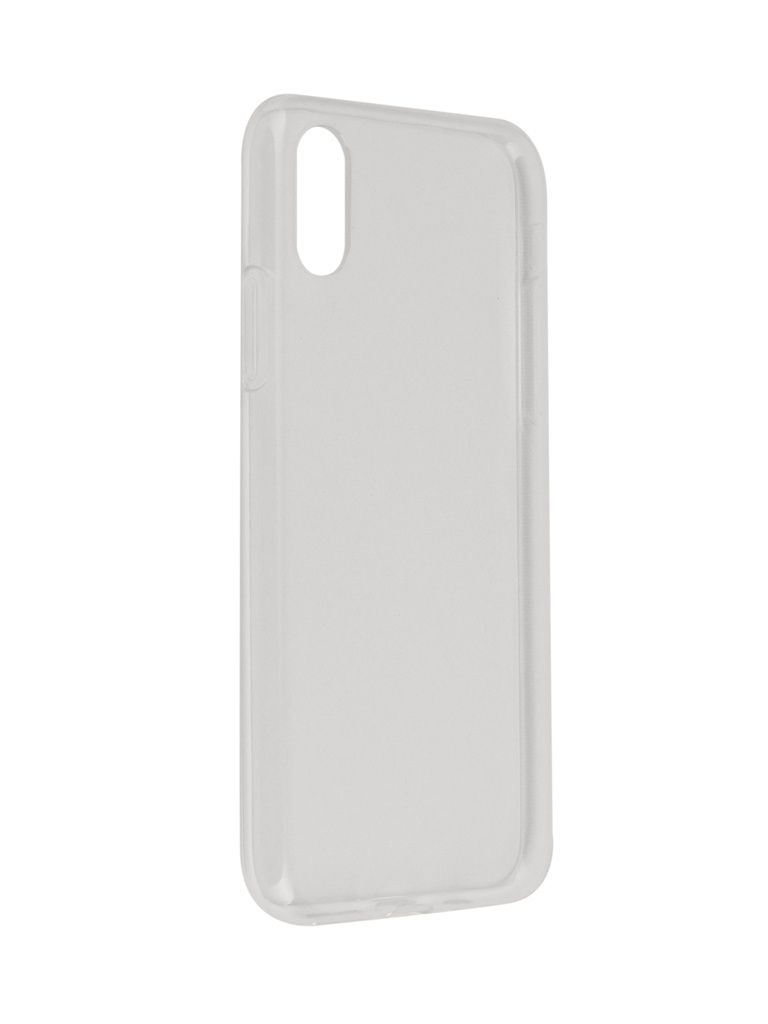 Аксессуар Чехол SkinBox для APPLE iPhone XS Slim Silicone Transparent T-S-AIXS-006