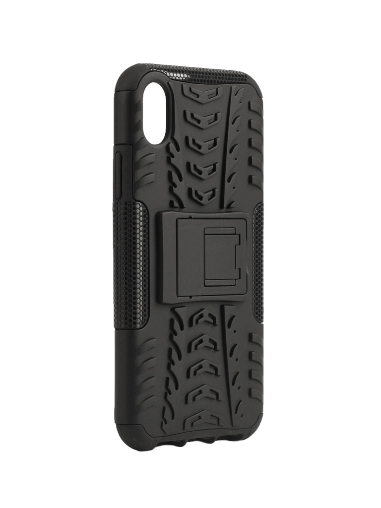 Аксессуар Чехол SkinBox для APPLE iPhone XR Defender Case Black T-S-AIXR-06