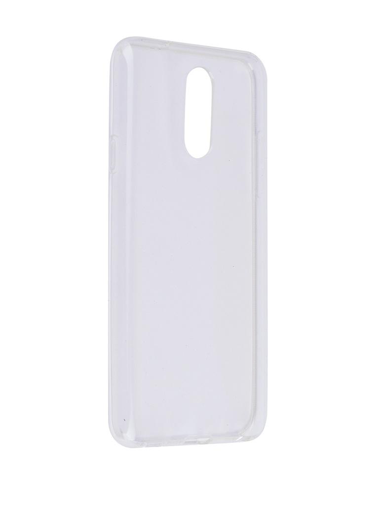 Аксессуар Чехол SkinBox для LG Q7 Slim Silicone Transparent T-S-LQ7-006 аксессуар чехол meizu u10 skinbox slim silicone transparent t s mu10 006