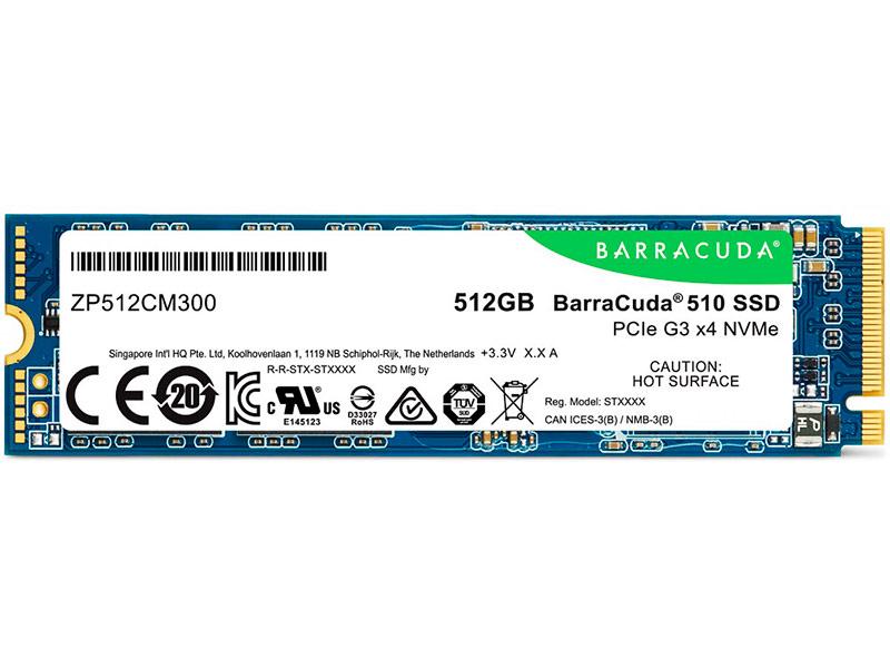 Жесткий диск Seagate BarraCuda 510 512Gb ZP512CM30041