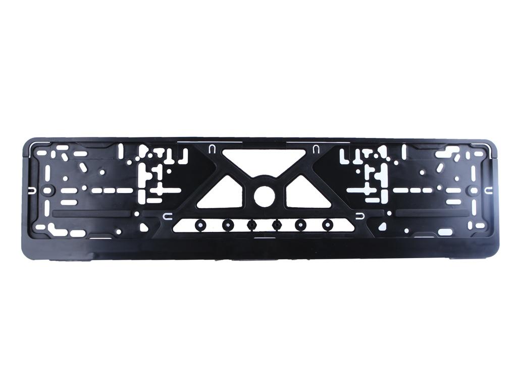 Рамка номерного знака Mashinokom Стандарт Black RG001