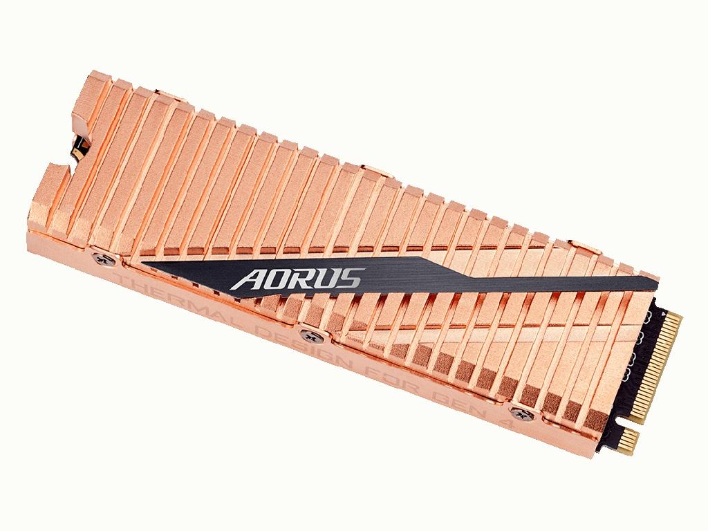 Твердотельный накопитель GigaByte Aorus 1Tb GP-ASM2NE6100TTTD