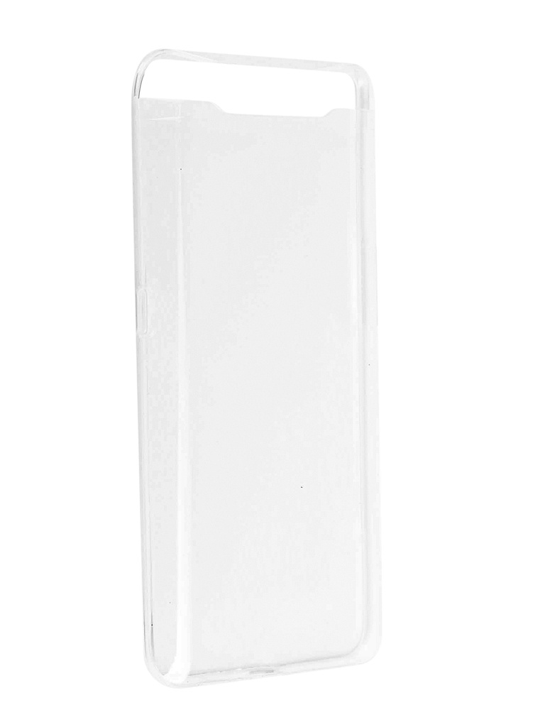 Чехол Zibelino для Samsung Galaxy A80 A805 2019 Ultra Thin Case Transparent ZUTC-SAM-A805-WHT