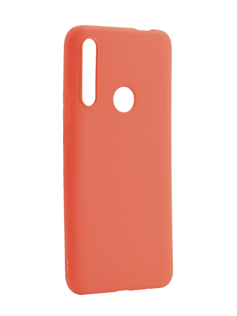 Аксессуар Чехол Zibelino для Huawei P Smart Z 2019 Soft Matte Red ZSM-HUA-PSMTZ-RED