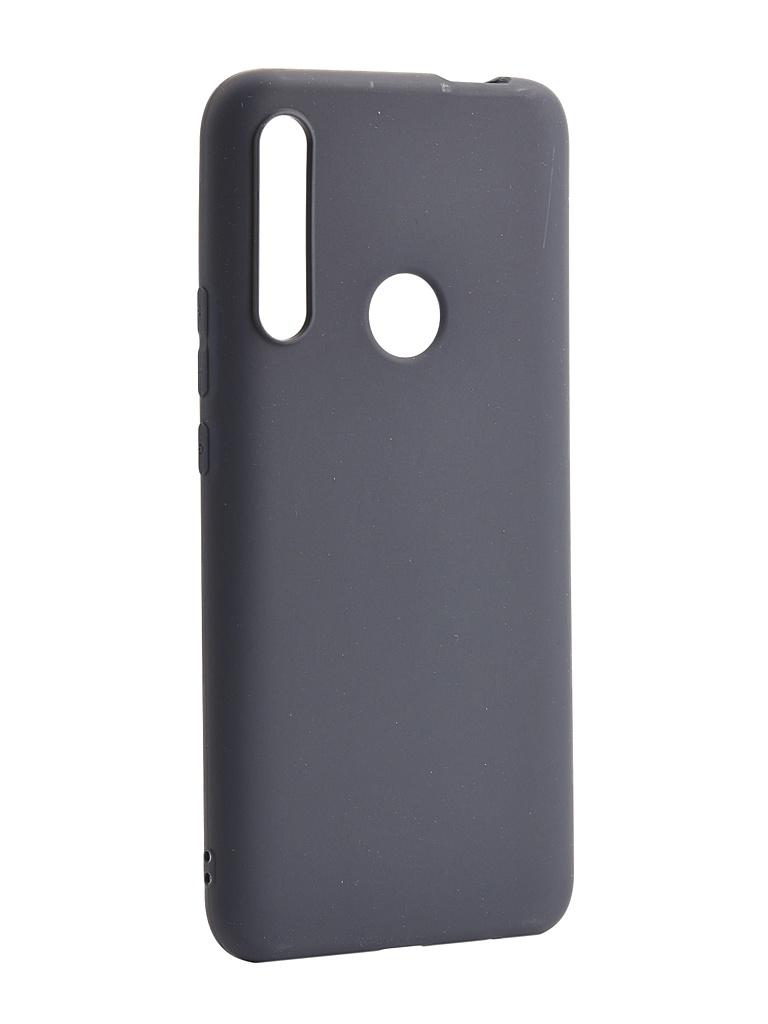 Чехол Zibelino для Huawei P Smart Z 2019 Soft Matte Dark Blue ZSM-HUA-PSMTZ-DBLU