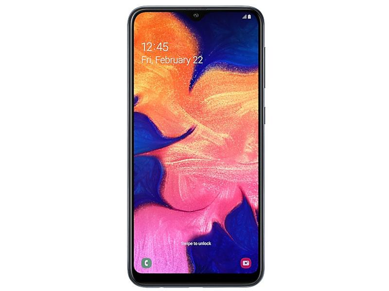 Сотовый телефон Samsung SM-A105F Galaxy A10 Black New Выгодный набор + серт. 200Р!!!