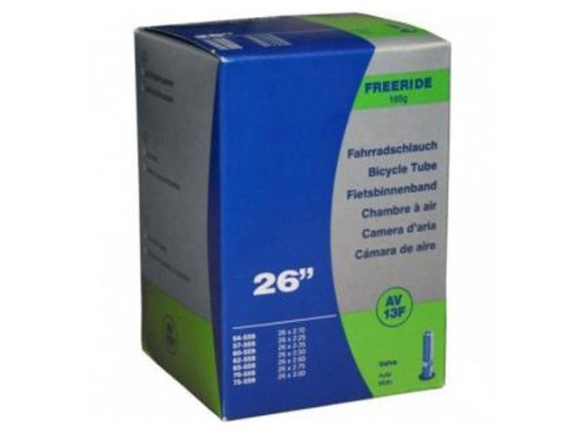 Велокамера Schwalbe AV13F TR4 Freeride 54/75-559 26х2.1525-3.0 40mm 10425790