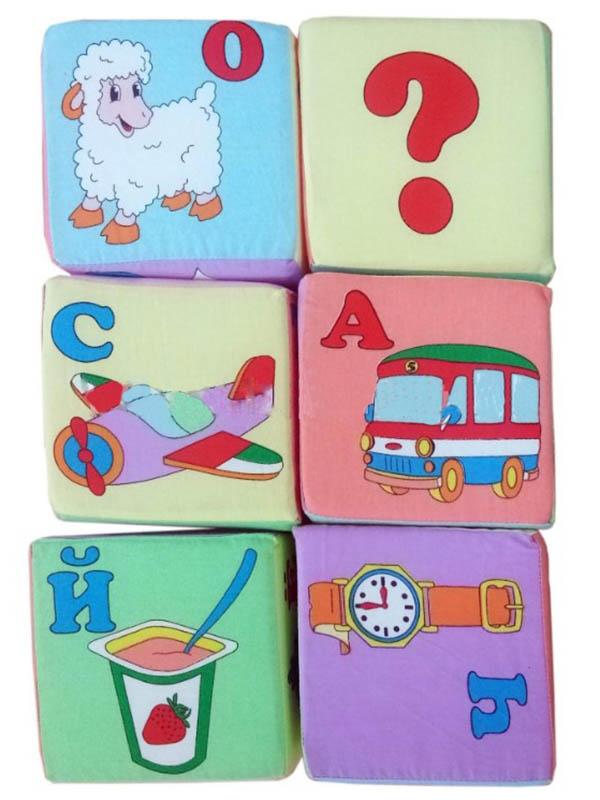 Кубики Учитель Большая Азбука ИТМ-10