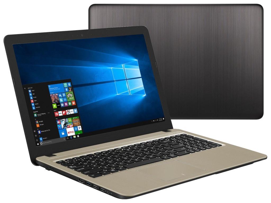 Ноутбук ASUS R540BA-GQ181T 90NB0IY1-M02200 (AMD A6-9225 2.6GHz/4096Mb/500Gb/AMD Radeon R4/Wi-Fi/Bluetooth/Cam/15.6/1366x768/Windows 10 64-bit) ноутбук hp 15 db0067ur maroon burgundy 4jv07ea amd a6 9225 2 6 ghz 4096mb 500gb dvd rw amd radeon 520 2048mb wi fi bluetooth cam 15 6 1920x1080 windows 10 home 64 bit