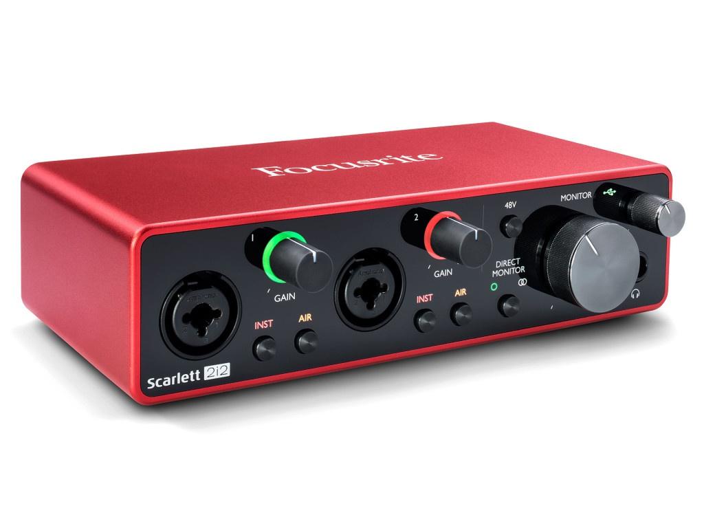 Аудиоинтерфейс Focusrite Scarlett 2i2 3rd Gen