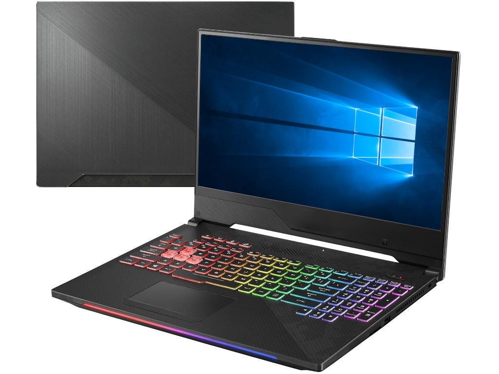 Ноутбук ASUS GL504GV-ES143T 90NR01X1-M02750 (Intel Core i5-8300H 2.3GHz/16384Mb/1000Gb + 256Gb SSD/No ODD/nVidia GeForce RTX 2060 6144Mb/Wi-Fi/Cam/15.4/1920x1080/Windows 10 64-bit)
