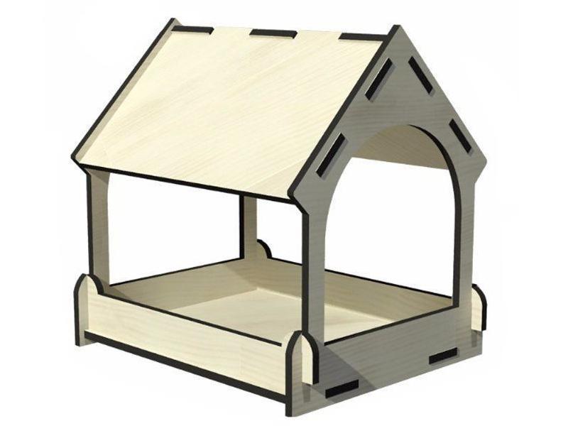 Сборная модель Учитель Кормушка для птиц ИДК-1 цена