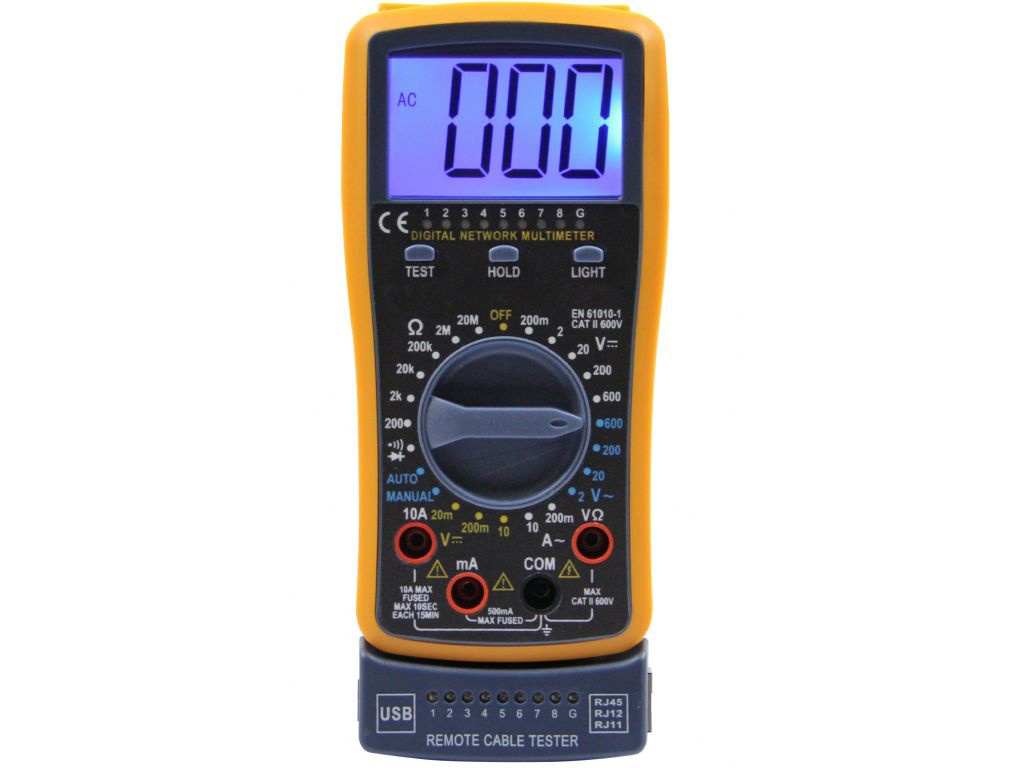 Мультиметр S-Line DT4300A 154904