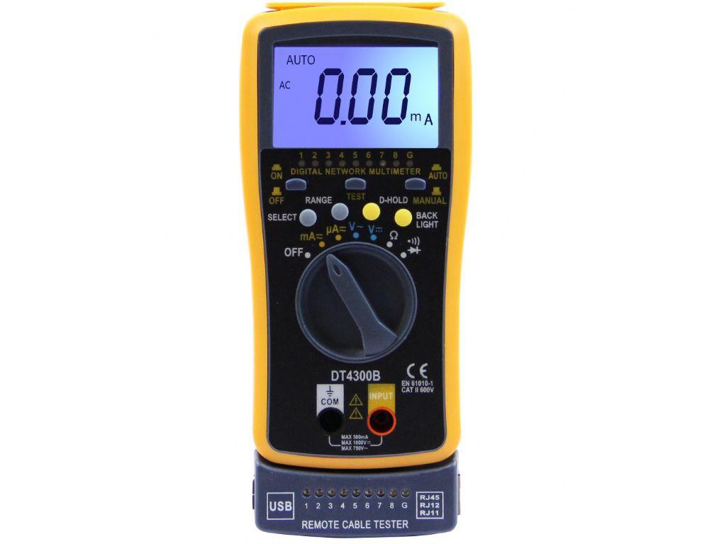 Мультиметр S-Line DT4300B 154905