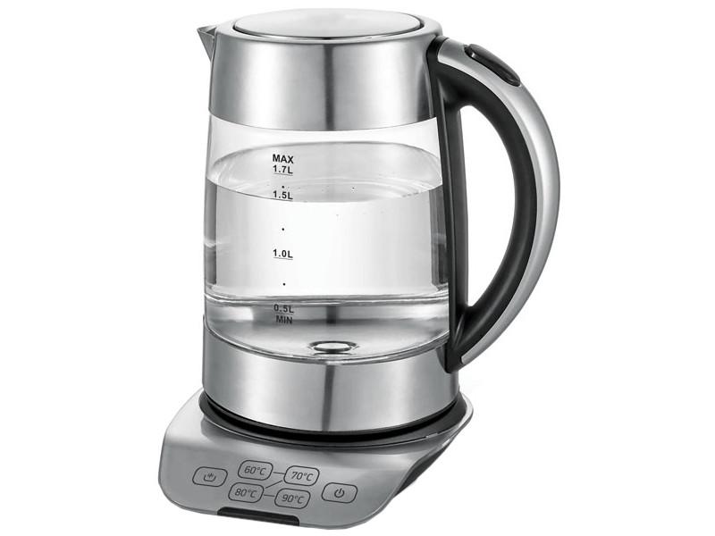 Чайник BBK EK1723G 1.7L Metallic
