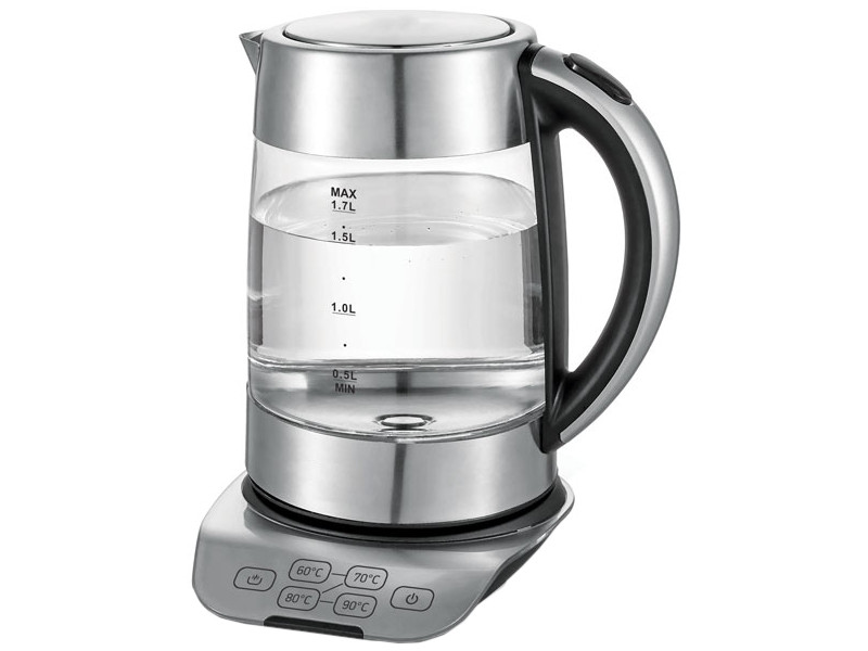 лучшая цена Чайник BBK EK1723G Metallic