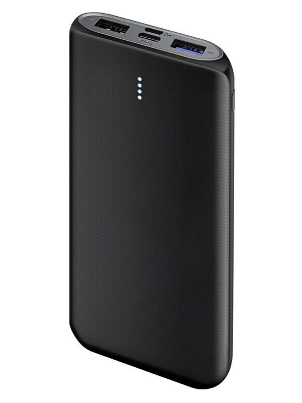 Внешний аккумулятор Ginzzu Power Bank 10000mAh Black GB-3914B