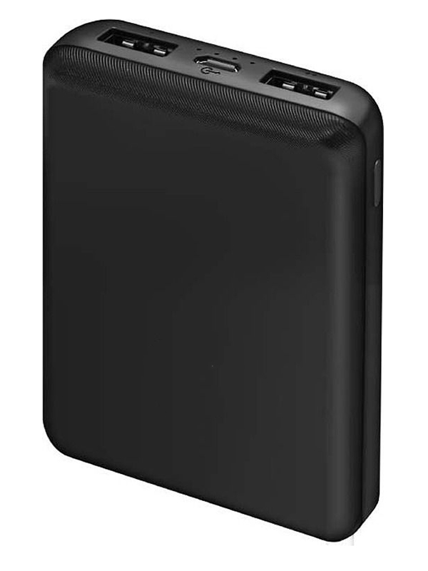 Внешний аккумулятор Ginzzu Power Bank 10000mAh Black GB-3913B