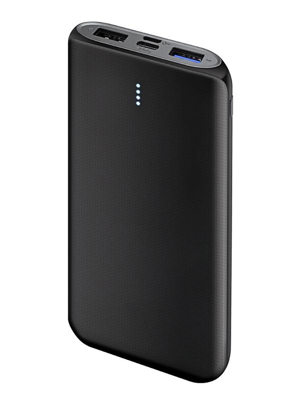 Внешний аккумулятор Ginzzu Power Bank 10000mAh Black GB-3912B