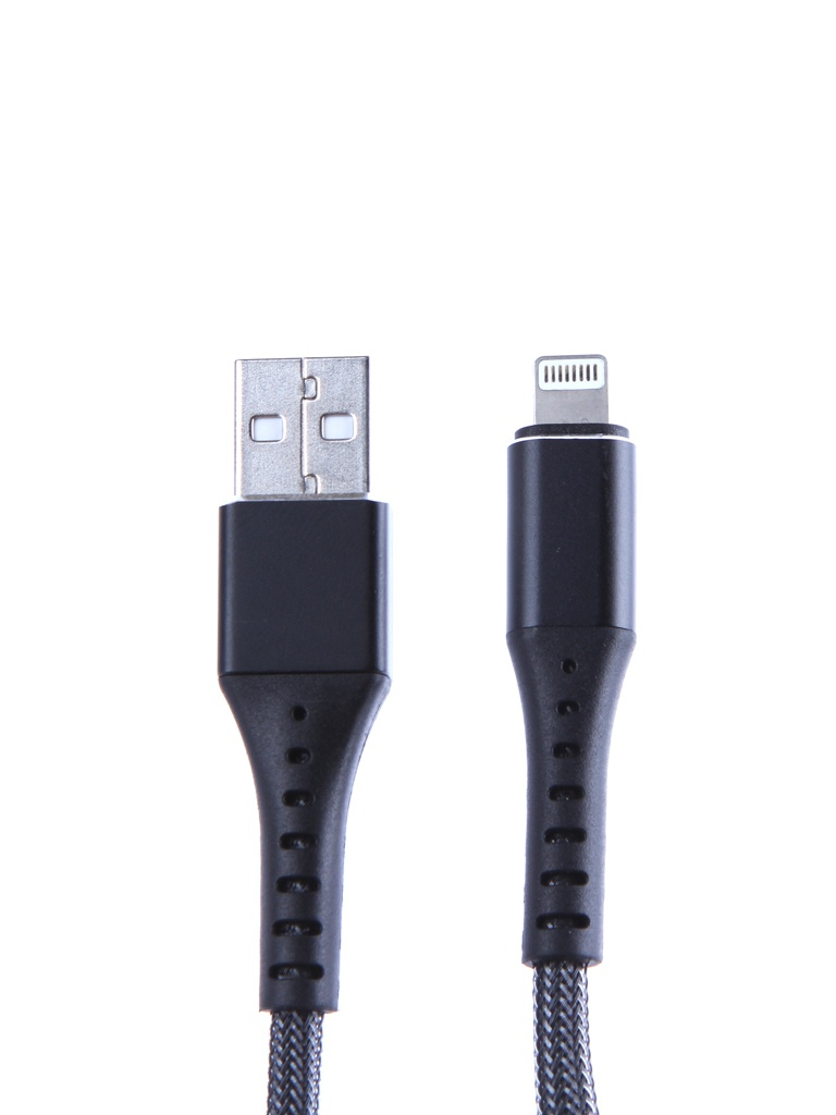 Аксессуар Devia Braid Series Cable Lightning 1m Black