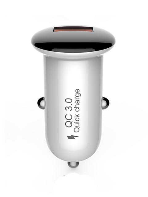 Зарядное устройство Devia Mushroom Series QC 3.0 18W Black devia cookee bluetooth earphone black 25923