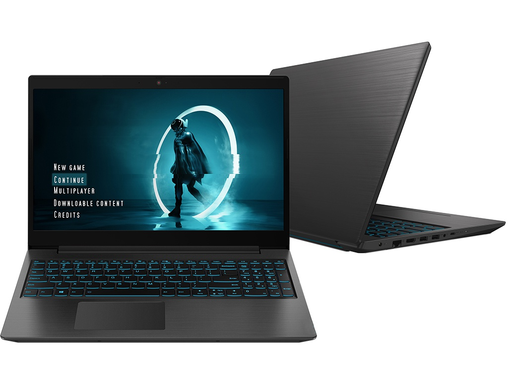 Ноутбук Lenovo IdeaPad L340 Gaming Black 81LK004RRU (Intel Core i7-9750H 2.6 GHz/8192Mb/1000Gb+256Gb SSD/nVidia GeForce GTX 1650 4096Mb/Wi-Fi/Bluetooth/Cam/15.6/1920x1080/Windows 10 Home 64-bit)
