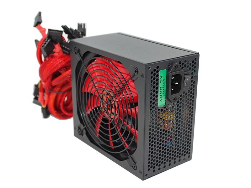 Блок питания Ginzzu PC500 14CM 80+ 500W блок питания foxconn fx g500 80 500w fx g500 80