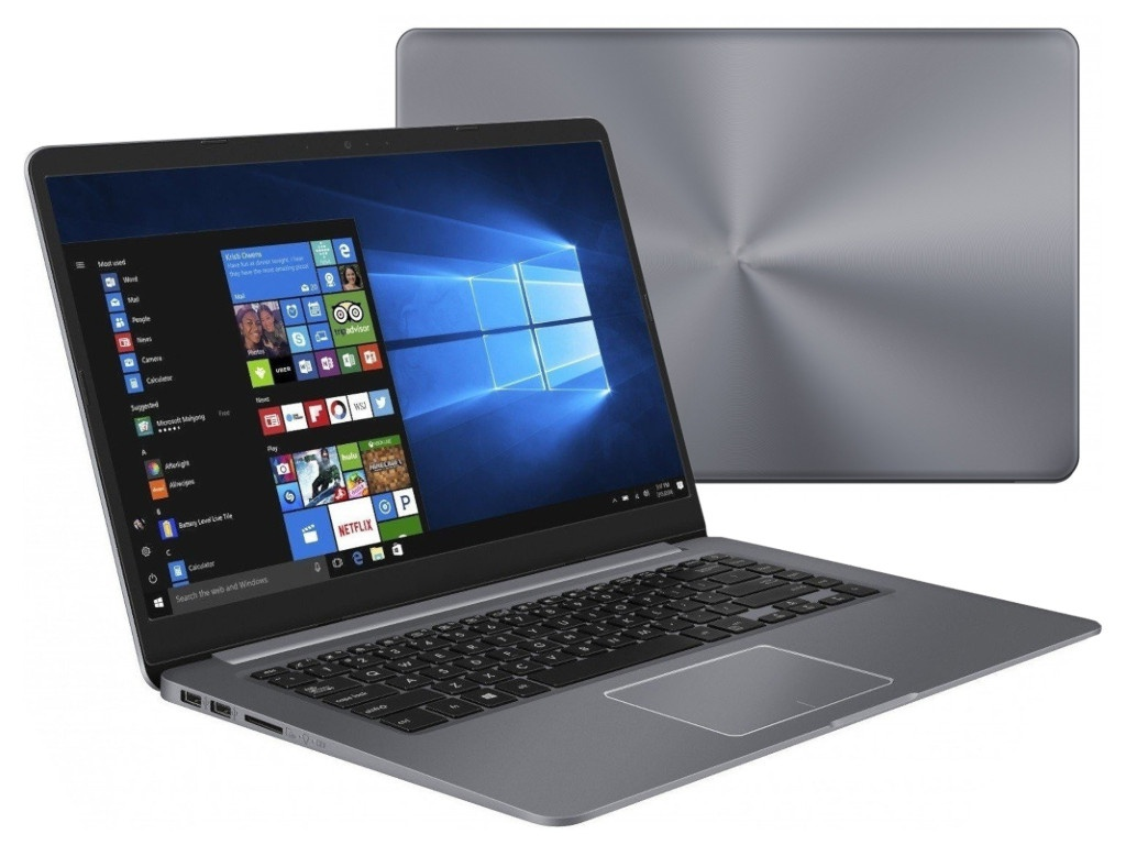 Ноутбук ASUS X510UF-BQ757T 90NB0IK2-M12380 (Intel Core i3-7020U 2.3 GHz/8192Mb/256Gb SSD/nVidia GeForce MX130 2048Mb/Wi-Fi/Cam/15.6/1920x1080/Windows 10 64-bit)