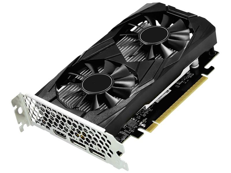Видеокарта Palit GeForce GTX 1650 Dual OC 1485Mhz PCI-E 3.0 4096Mb 8000Mhz 128 bit DP HDMI NE51650T1BG1-1171D