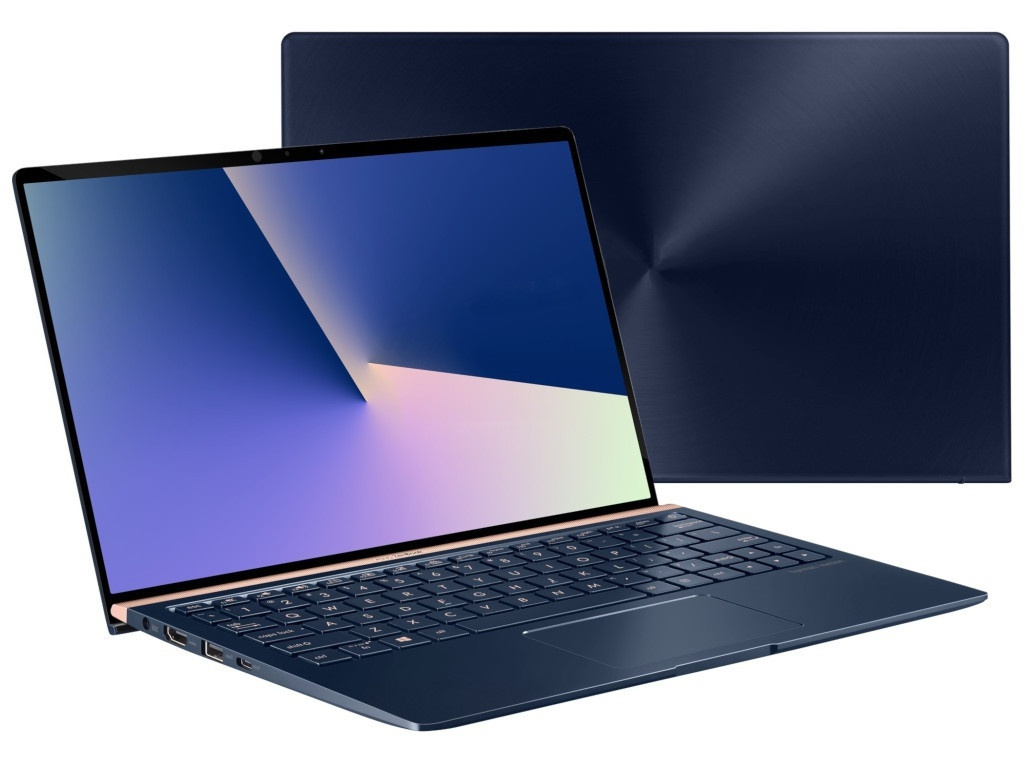 Ноутбук ASUS UX333FA-A4011T 90NB0JV3-M04230 (Intel Core i5-8265U 1.6 GHz/8192Mb/256Gb SSD/No ODD/Intel HD Graphics/Wi-Fi/Cam/13.3/1920x1080/Windows 10 64-bit)