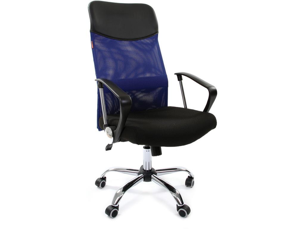 Компьютерное кресло Chairman 610 Black-Blue