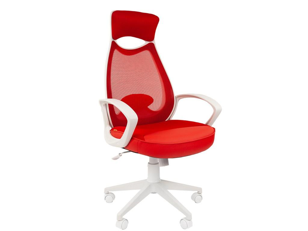 Компьютерное кресло Chairman 840 White-Red