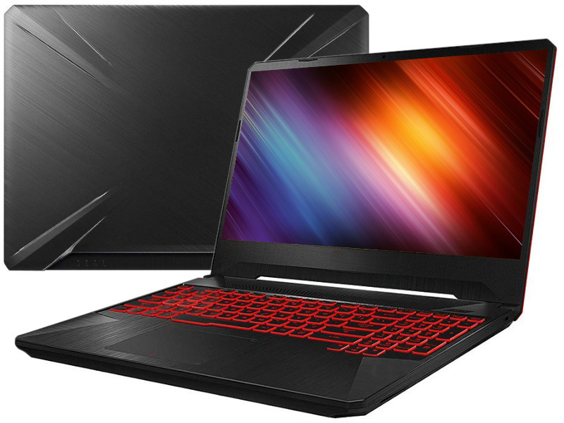 Ноутбук ASUS TUF FX505DT-AL227T 90NR02D2-M04410 (AMD Ryzen 5 3550H 2.1 GHz/16384Mb/1000Gb+256Gb SSD/nVidia GeForce GTX 1650 4096Mb/Wi-Fi/Bluetooth/Cam/15.6/1920x1080/Windows 10 Home 64-bit)