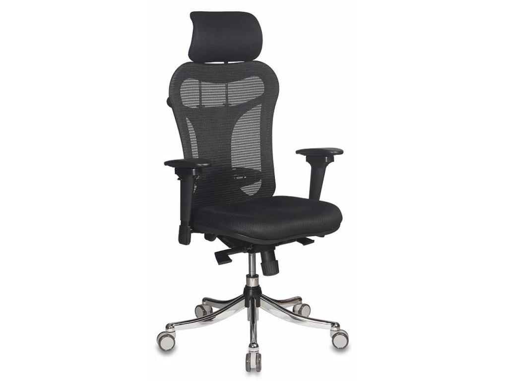Компьютерное кресло Бюрократ CH-999ASX Black кресло компьютерное бюрократ бюрократ ch 868axsn красное