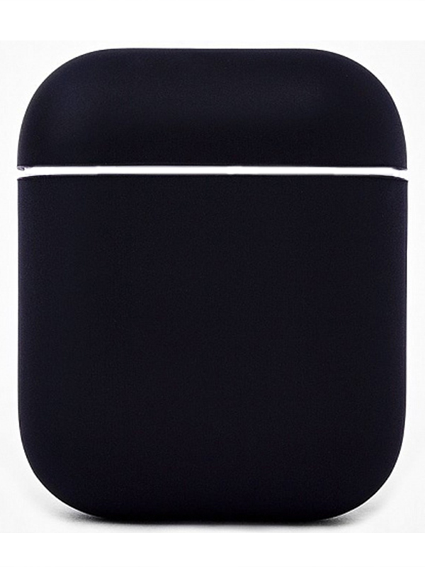 Чехол Krutoff для AirPods Silicon Case Black 10853