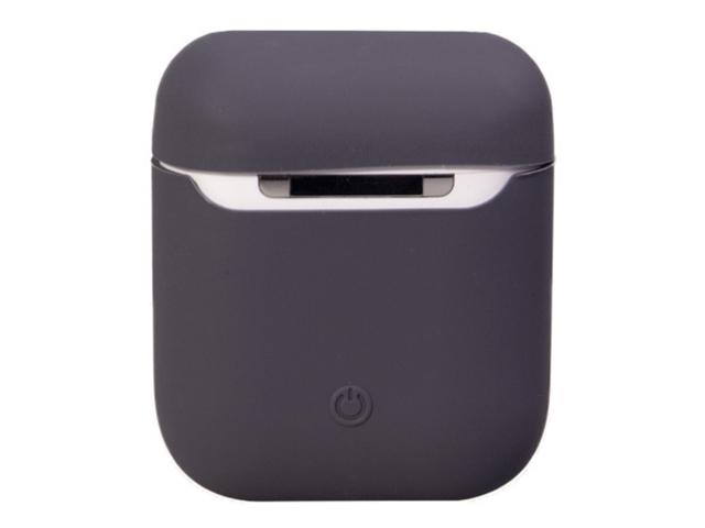 Чехол Krutoff для AirPods Silicon Case Dark Grey 10854