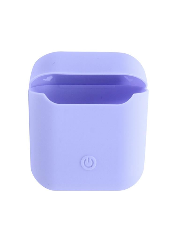 Чехол Krutoff для AirPods Silicon Case Light Purple 10855
