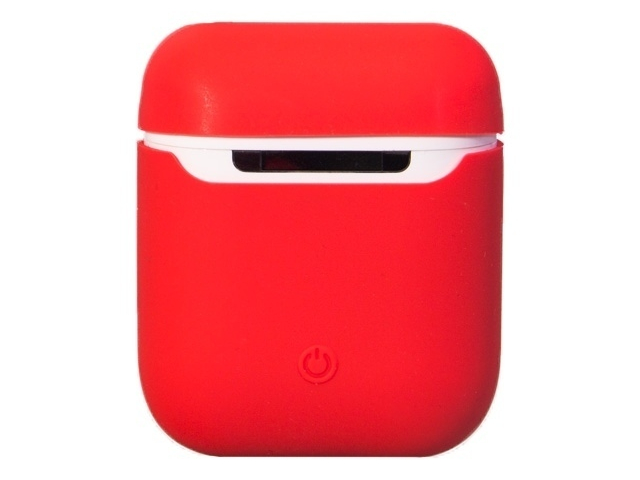 Чехол Krutoff для AirPods Silicon Case Red 10860