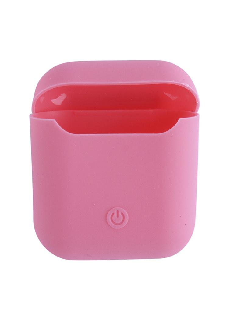 Аксессуар Чехол Krutoff для AirPods Silicon Case Pink 10861